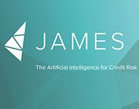James Finance brand design