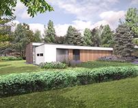 Bosvilla voor A&R10 architecten