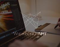 Logo & business cards design for Wierzchu-ART