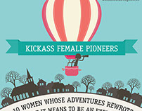Momondo - Infographic - Kickass Female Pioneers