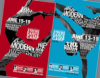 Xtreme Dance Camp Posters