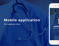 Mobile application for medical clinic