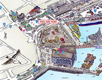 Reykjavík´s Old Harbour Map