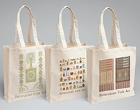"Cotton bag ""Belarusian crafts"""