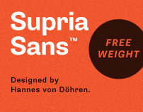 Supria Sans (Type System)