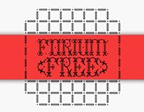 FORIUM (free font)
