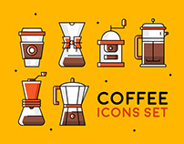Coffee Icons Set
