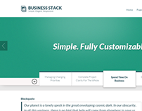 Business Stack - Free Template ( PSD file included )