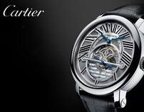 Cartier / Swarovski : various music synchronisation