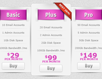 Very clean pricing table