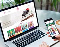 Yenilebilir Hayaller Web Site Tasarımı