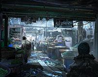 Underground City Marketplace