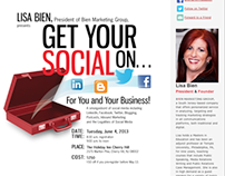 B!EN Marketing Group Newsletter and PayPal Branding