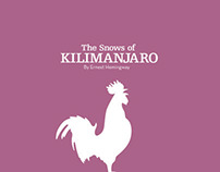 Snows of Kilimanjaro Type Book