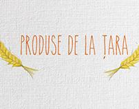 Produse de la tara