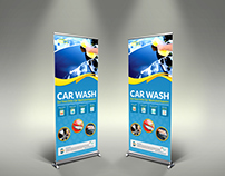 Car Wash Signage Template