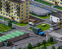 Microdistrict 3D