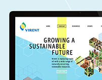 Virent Website Redesign