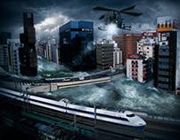 Tokio Bajo el Agua...