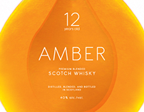 AMBER SCOTCH WHISKY