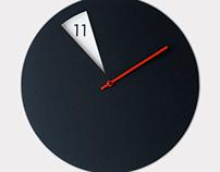 FreakishCLOCK - wall clock