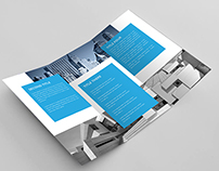 Clean Architecture Trifold Brochure