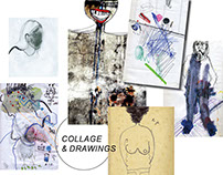 collage&drawings