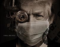 Trumpinator, Trump in Mask, COVID-19