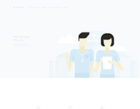 Well Being | Web design & Illustration