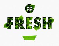FRESH - Free PSD Mockup by Sko4 FREEBIE