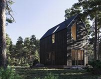 Forest cabinin Ritsona