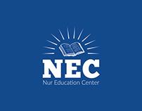 """""""NEC"""" education logo design"""