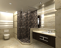 marble bathroom for G-Design
