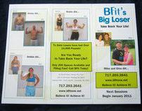 BFit Gym's Biggest Loser Brochure