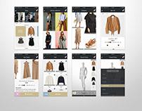 electronic commerce service app: prototype design