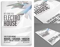 Electro House Flyer