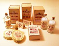Heritage Barbershop Product Branding