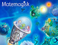 Erik – Matemagisk - Mathbook illustrations 1-4 grade