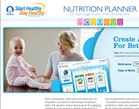 Gerber Nutrition Planner - Proposal