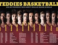 Teddies Basketball Schedule
