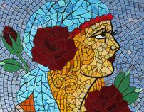 Window/Glass Mosaic Treatments
