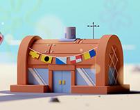 Spongebob Squarepants Buildings