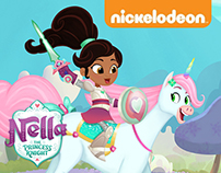 Nella, The Princess Knight (@Nickelodeon)