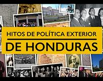 Hitos de Política Exterior de Honduras