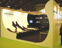 Stand for Vorwerk Carpets at Ecobuild