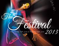 2013 dance festival design & print of souvenir booklet