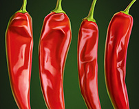Chilli illustration