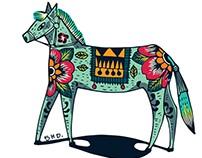 animals(ngựa xanh)