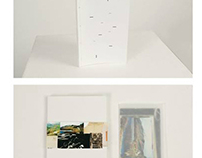Book Design project of antique postcards