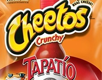 Cheetos Tapatio Packaging